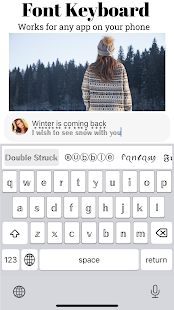 Font Keyboard - Cool Fonts Screenshot