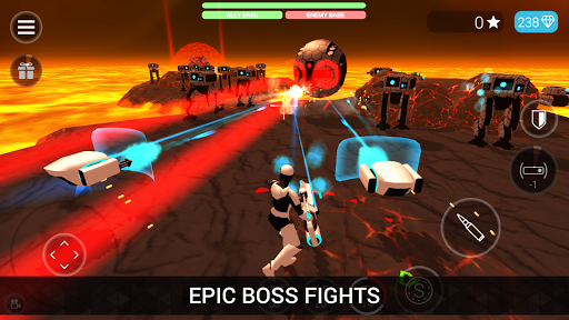 CyberSphere: TPS Online Action-Shooting Game screenshot 11