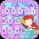 Laser Pretty Mermaid Keyboard Theme