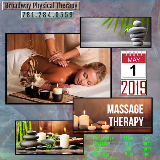 Broadway Physical Therapy Now Provides Massage Therapy