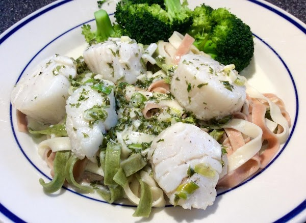 Scallops In Garlic Cream Sauce Recipe