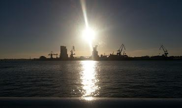 Photo: Vue sur le port de Lorient