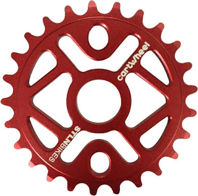 Stolen Cartwheel 28T Sprocket Polished alternate image 0