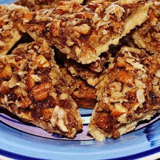 Maple Pecan Shortbread Squares.
