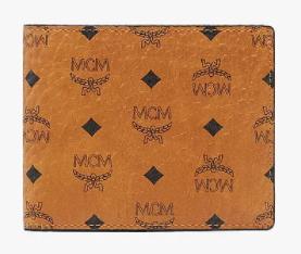 6. กระเป๋าสตางค์แบรนด์ MCM