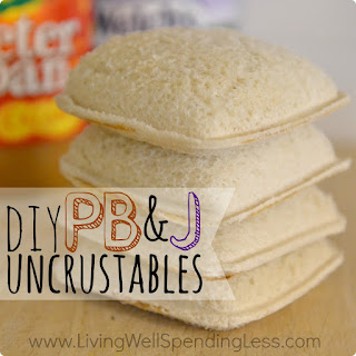 PB & J Uncrustables Recipe