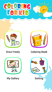 Kids Drawing - Kids Coloring -  Art Games for Kids