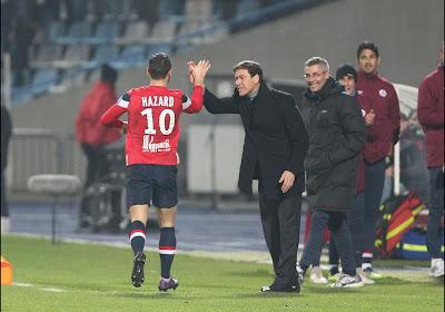 Rudi Garcia aurait aimé retrouver Eden Hazard en quarts de finale