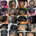 Braid Hairstyle Woman & Child icon