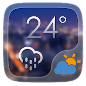 Simple Life GO Weather Widget