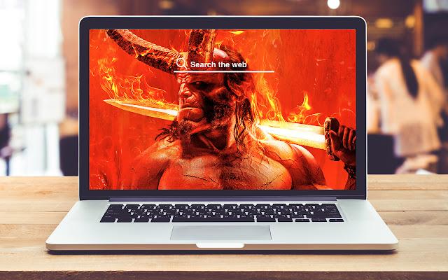 Hellboy HD Wallpapers New Tab Theme