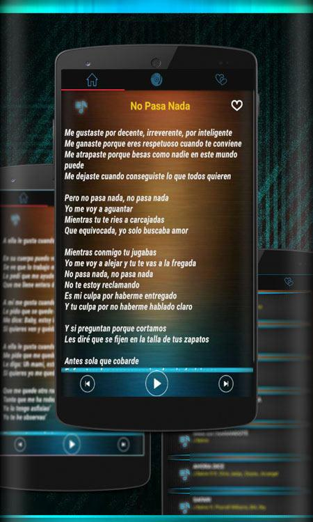 Screenshots of Ha ash Musica Letras Nuevo Mp3 2018 for iPhone
