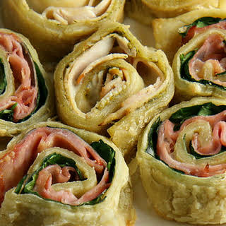 Easy Puff Pastry Roll Up Snacks.