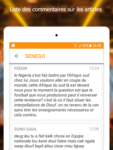 Senego: News in Senegal  screenshots 9