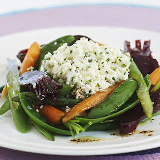 Baby Vegetable Salad with Ricotta.