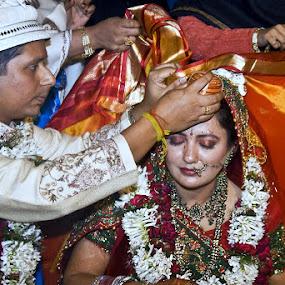 Bibah by Soumen  Basu Mallick - Wedding Bride & Groom ( marriage )