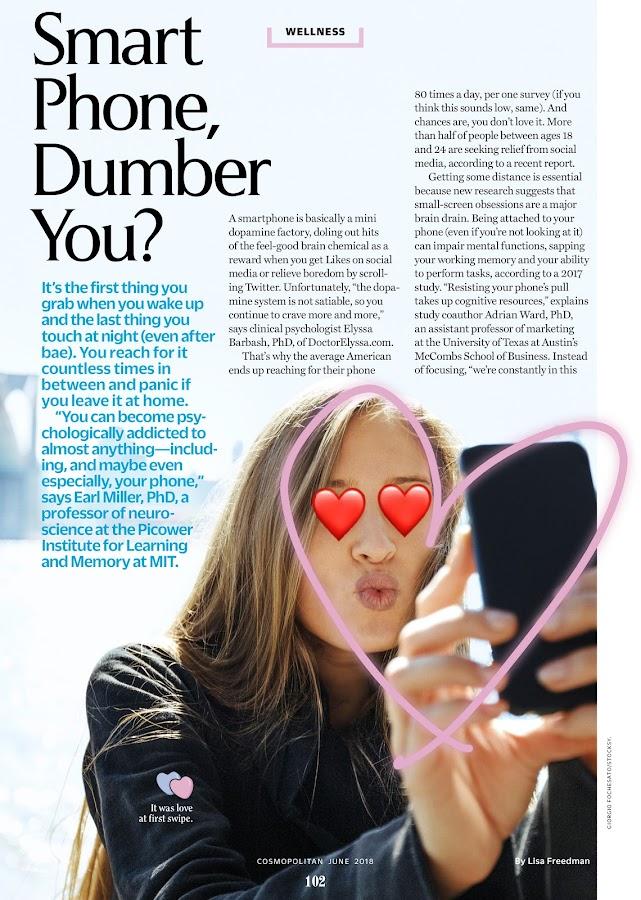 Cosmopolitan Magazine- screenshot