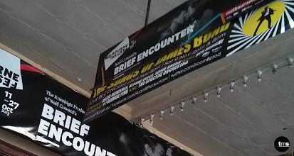 Photo: The Athenaeum | The Songs of James Bond | Theatre Banner #theatre #advertising #banner #TheAthenaeum #007 #TheSongsofJamesBond
