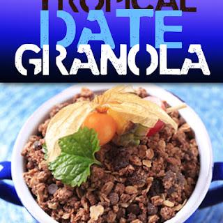 Tropical Date Granola