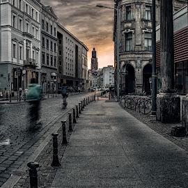 Wroclaw by Bohdan Šimeček - City,  Street & Park  Street Scenes
