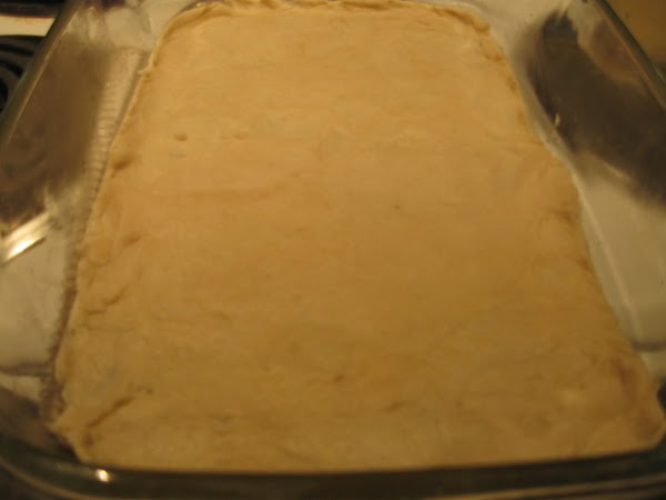 Split the remaining dough into near halves.  If one side has slightly more,...