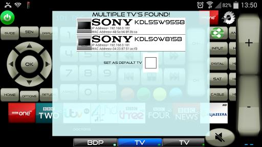 Remote for Sony TV & Sony Blu-Ray Players screenshot 7