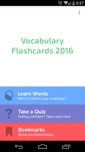 CAT GRE SAT Vocab Flashcards- screenshot thumbnail