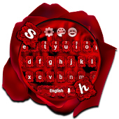 Rose Love Petal Keyboard Theme
