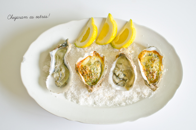Oysters Au Naturale and Gratin Oysters