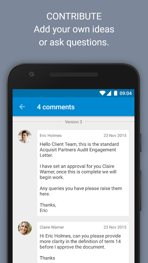 Huddle- screenshot