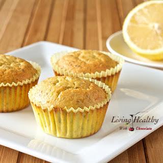 Paleo Lemon Chia Seed Muffins (Low-Carb, Nut-Free, Dairy-Free, Grain-Free, Gluten-Free, Refined Sugar-Free Recipe