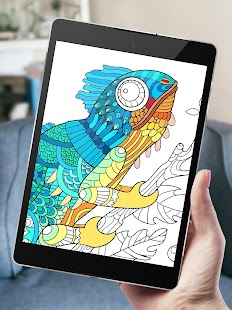 Free Adult Coloring Book App | Animals - Android Apps on Google Play
