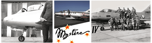 MONTAGE SWEAT MYSTERE IV ARMEE DE L'AIR BARNSTORMER