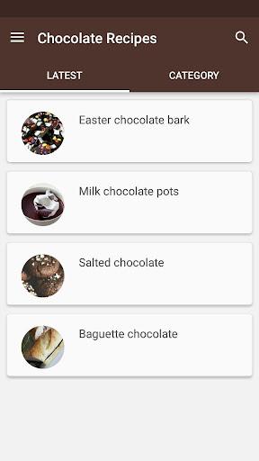 玩免費遊戲APP|下載Chocolate Recipes app不用錢|硬是要APP