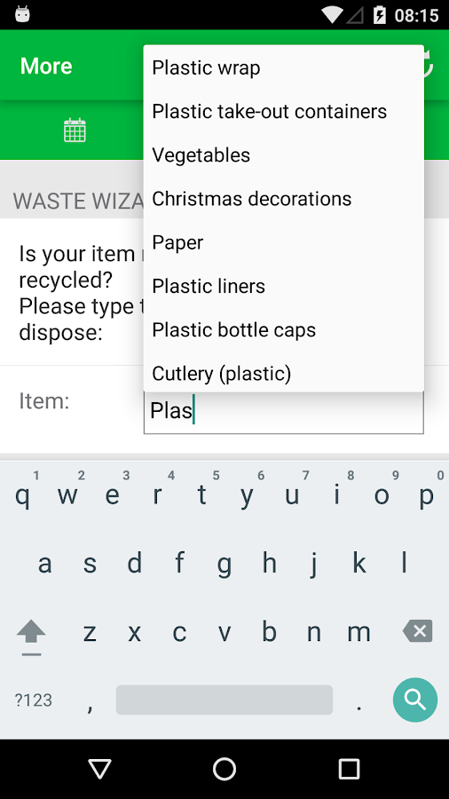COMO Recycle and Trash- screenshot