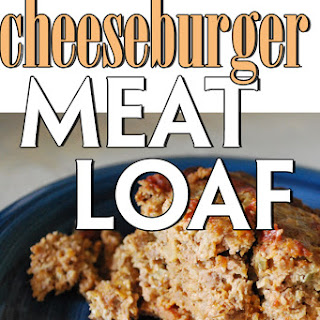 Crock Pot Cheeseburger Meatloaf.