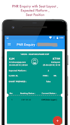 Download Indian Railway IRCTC PNR Status Train Enquiry for android