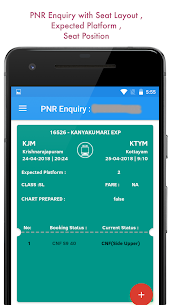 Indian Railway PNR Status & IRCTC Train EnquiryApk Download For Android 6