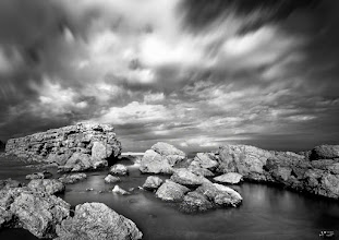 Photo: Empúries. City of ancient Greece and Rome in Catalonia. Remains of the rampart in a long exposure my contribution to: #breakfastclub by +Gemma Costa #plusphotoextract by +Jarek Klimek