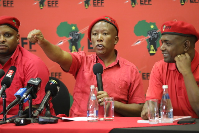 WATCH | Five spicy Juju quotes in lead-up to December EFF conference