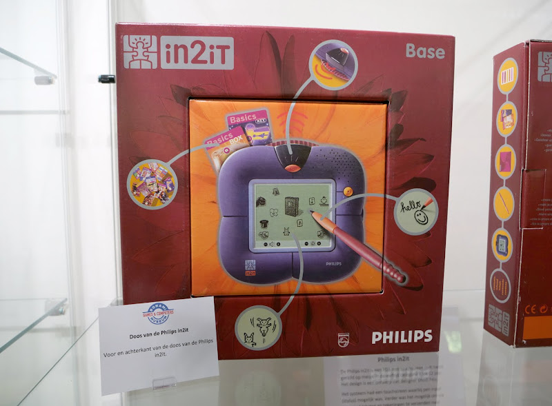Philips in2iT tentoonstelling bij het Bonami SpelComputer Museum