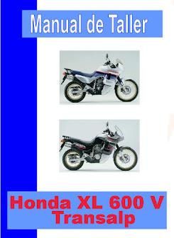 honda XL 600 V transalp -manual-taller-mecanica-despiece