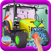 Farm Tractor Wash Salon