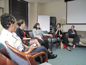 Photo: 3.22.12 discussion about harassment on the transit system, Washington, DC, USA