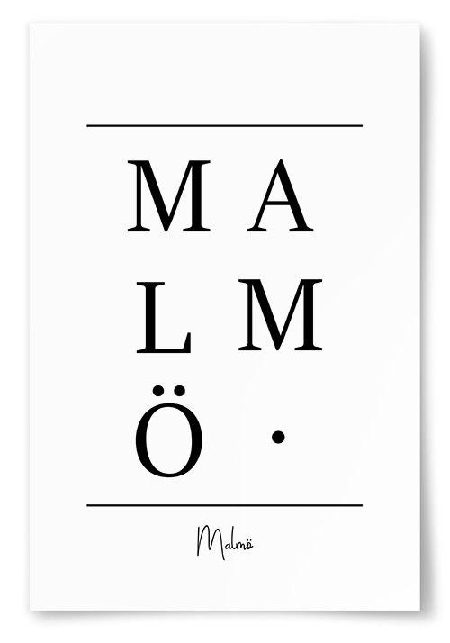 Poster Malmö