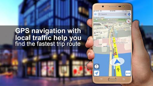 GPS, Maps, Navigations, Directions & Live Traffic 1.39.0 screenshots 5