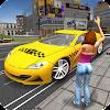 Taxi simulateur au volant 3d