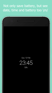 Blackr - AMOLED Screen Off Screenshot