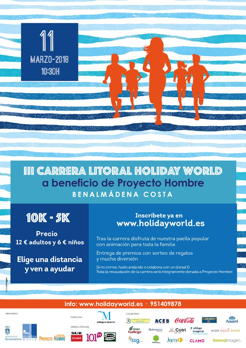 Cartel III Carrera Litoral Holiday World