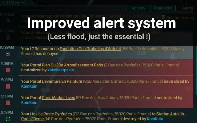 Ingress Intel Improvement [BETA]